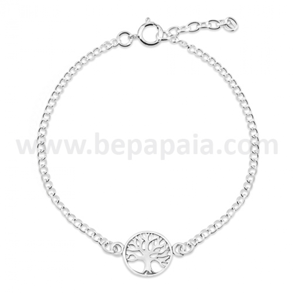 Silver Bracelet With Assorted Designs Bepapaia