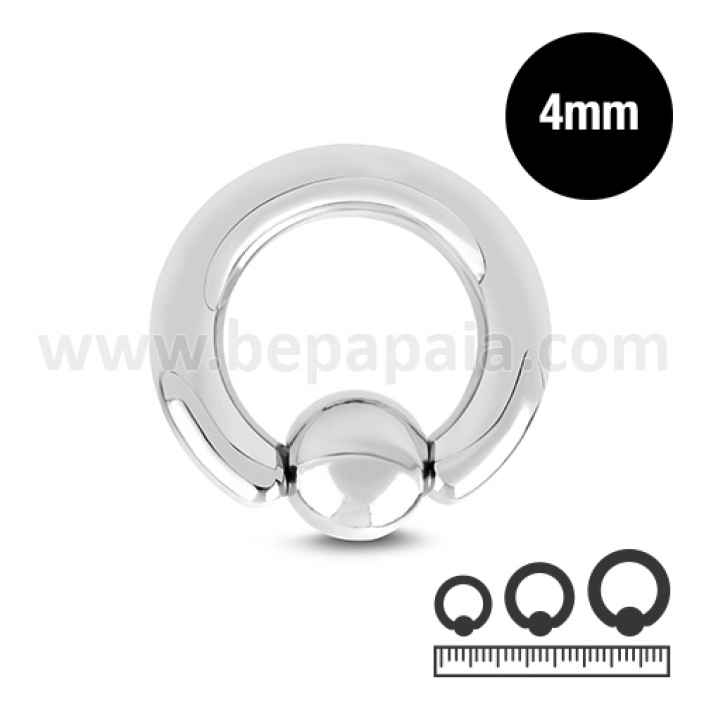 Stainless steel ball closure ring  4mm