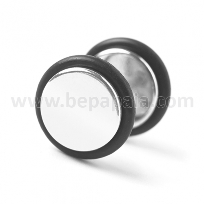 Surgical steel fake plug