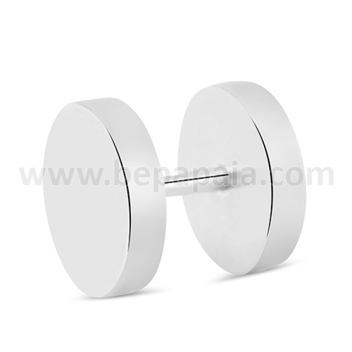 Surgical steel fake plug no o-ring