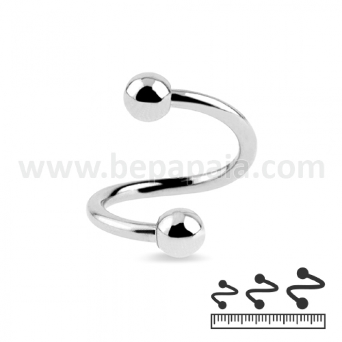 Stainless steel spiral 1.2mm