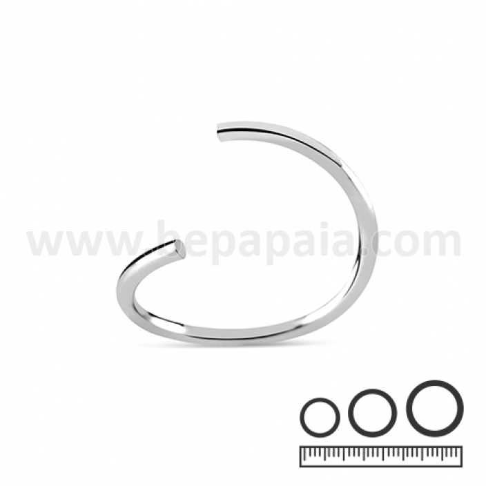 Stainless steel flexible ring 0.8, 1.0, 1.2mm