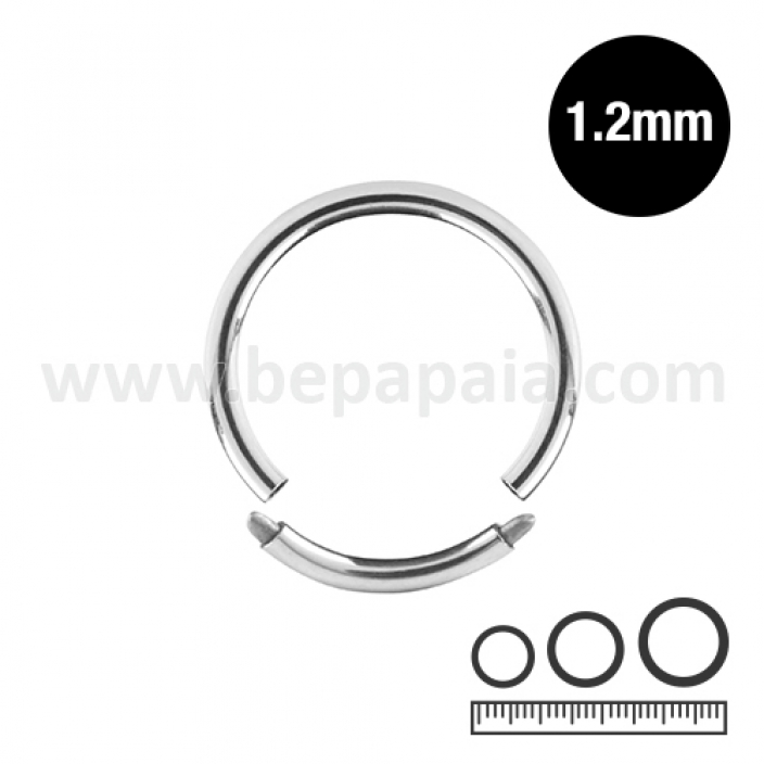 Stainless steel segment ring 1.2mm
