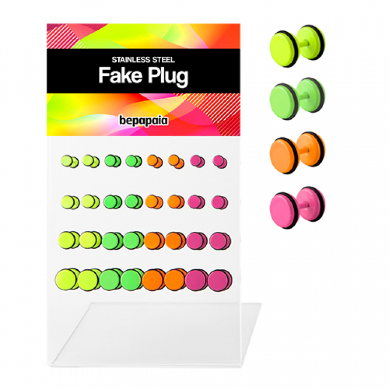 Fake Plug Electric Colors