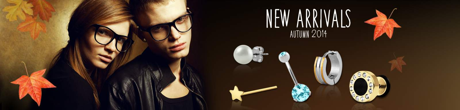 New Arrivals: Piercing, earrings, fake plugs, Plugs and Tunnels